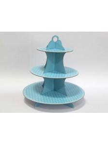 Polka Paper Cake Stand