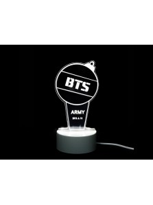 Lampu LED Tidur Akrilik Light Stick BTS Custom K Pop