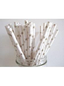 Paper Straw - Star