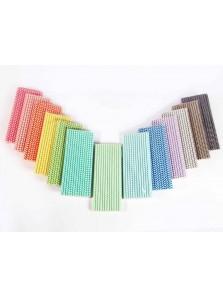 Paper Straw Cevron