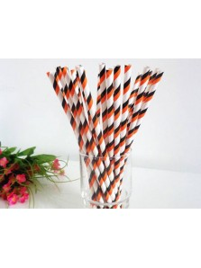 Paper Straw Stripe 2