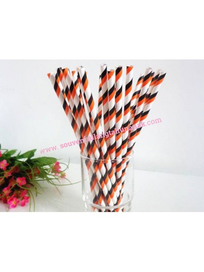 Paper Straw Stripe 2