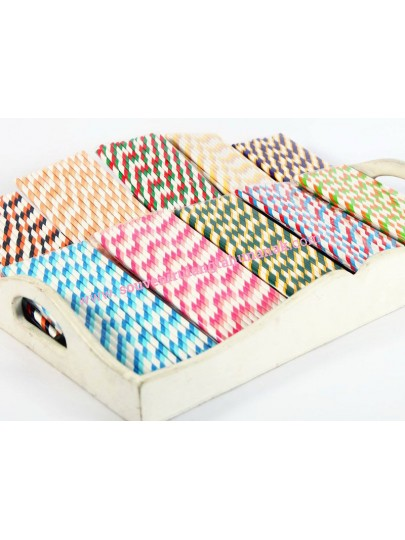 Paper Straw Stripe