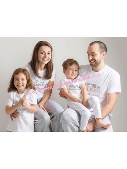 Baju Tidur Custom Keluarga