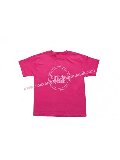 Baju Ultah Anak Warna
