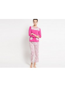Pyjama Long Sleeve Long Limited Edition Floral Sleepwear