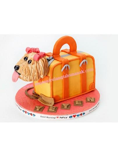 Kue Ultah Imlek Anjing