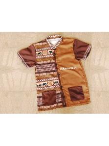 Baju Kerah Koko Custom