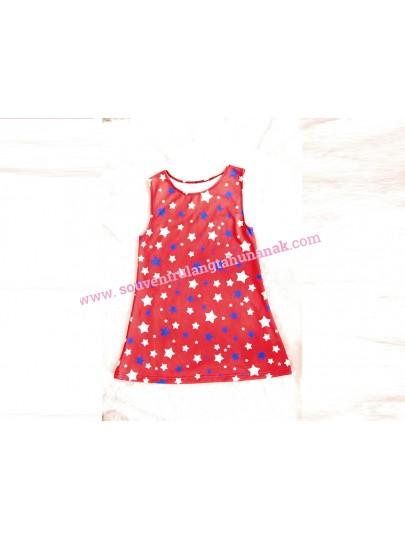 Dress Ultah Full Print