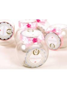 Toples Silver Lid Jar